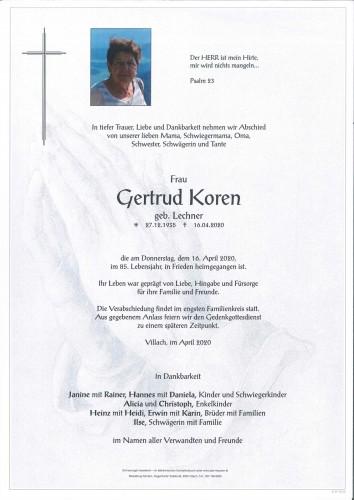 Gertrud Koren