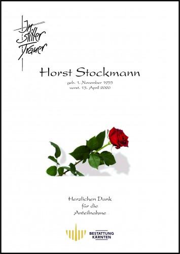 Horst Stockmann