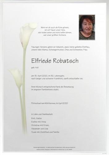 Elfriede Robatsch