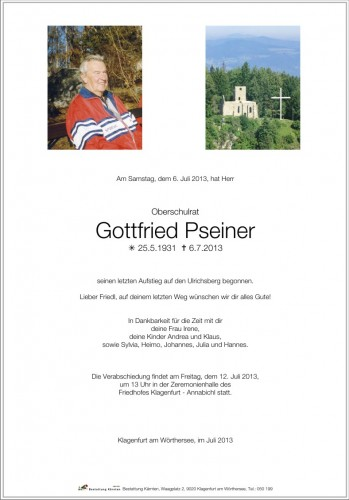 Gottfried Pseiner