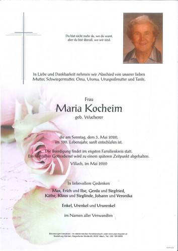 Maria Kocheim