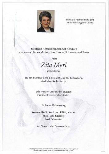 Zita Merl