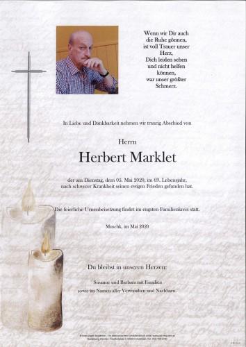Herbert Marklet