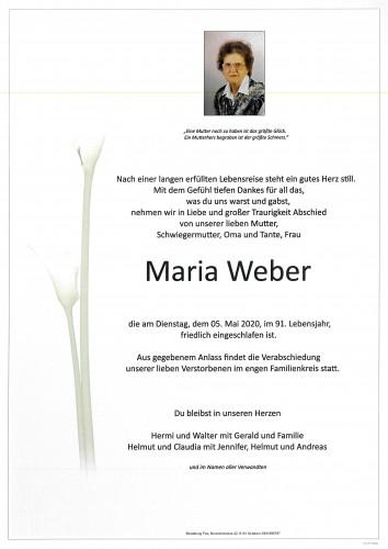 Maria Weber