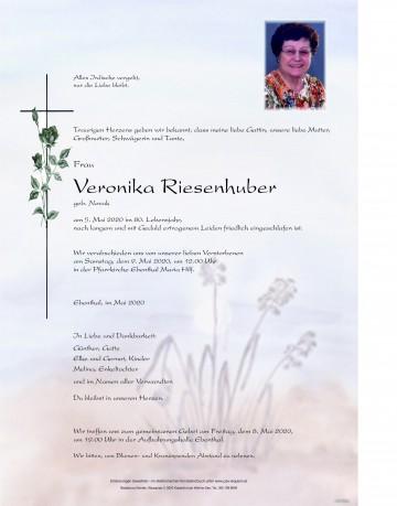 Veronika Riesenhuber