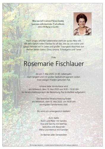Rosemarie Fischlauer