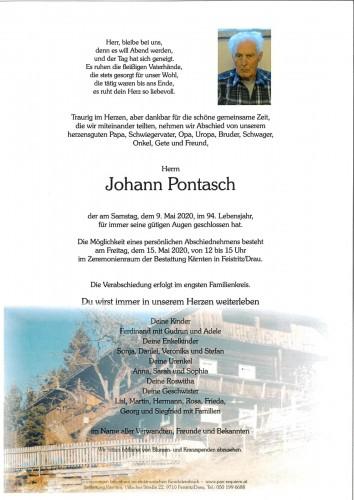 Johann Pontasch