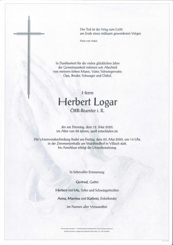 Herbert Logar