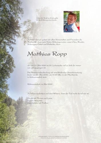Mathias Ropp