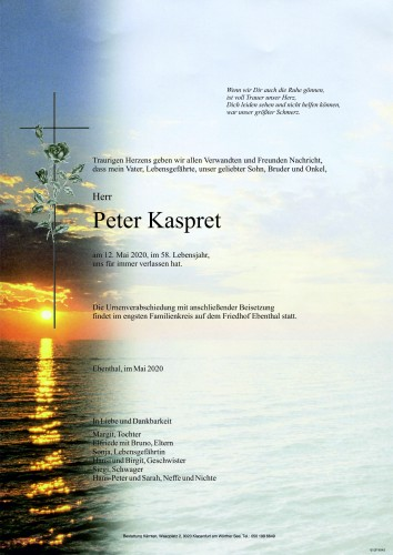 Peter Kaspret