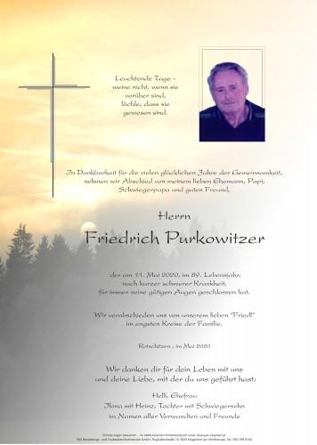 Friedrich Purkowitzer
