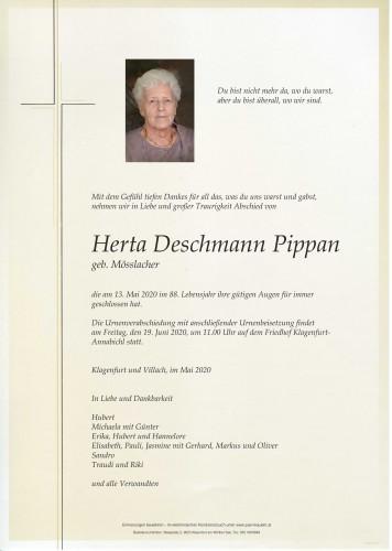 Herta Deschmann Pippan