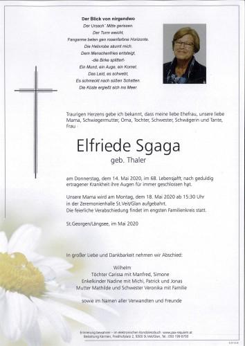 Elfriede Sgaga
