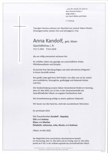 Anna Kandolf