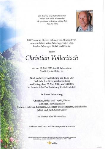 Christian Volleritsch