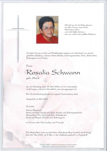 Rosalia Schwann