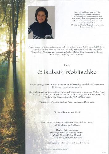 Elisabeth Robitschko