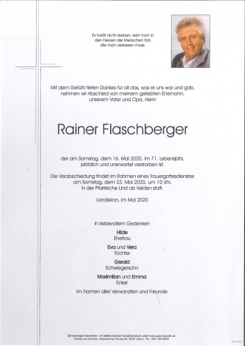 Rainer Flaschberger