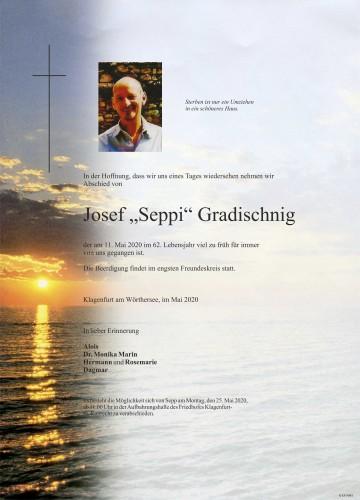 Josef Gradischnig