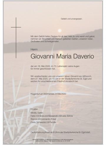 Giovanni Maria Daverio