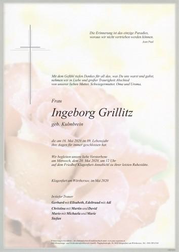 Ingeborg Grillitz