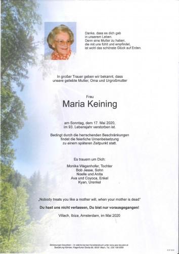 Maria Keining