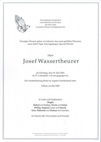 Josef Wassertheurer