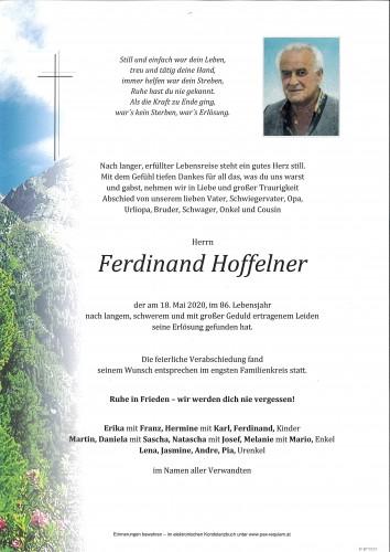 Ferdinand Hoffelner