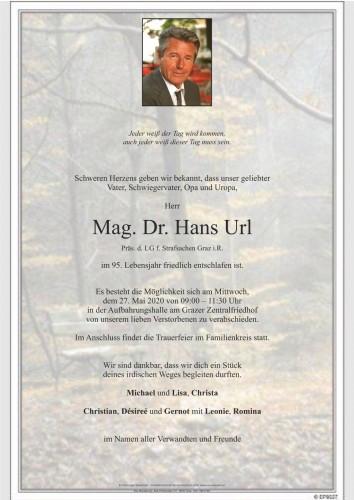 Dr. Hans Url