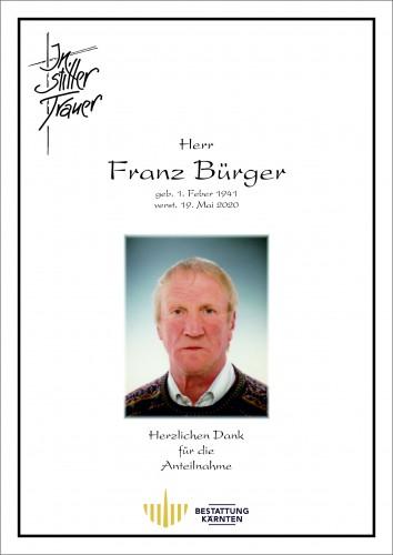 Franz Bürger