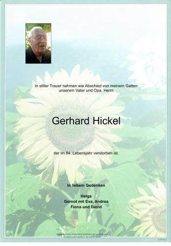 Gerhard Hickel
