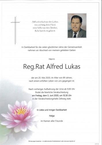 Reg.Rat Alfred Lukas