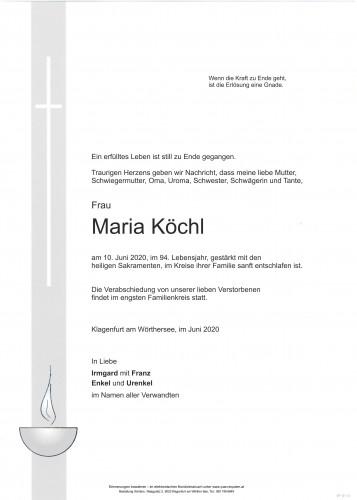Maria Köchl