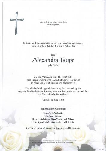 Alexandra Taupe