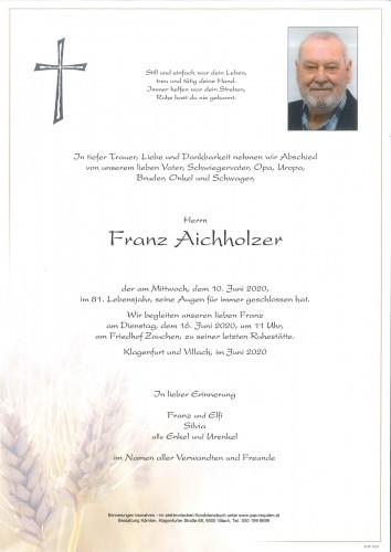 Franz Aichholzer
