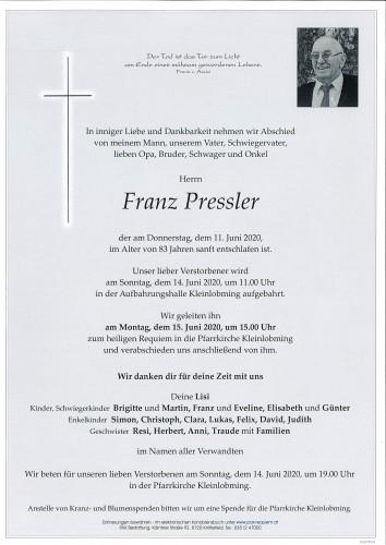 Franz Pressler