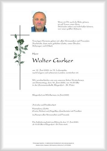 Walter Gurker