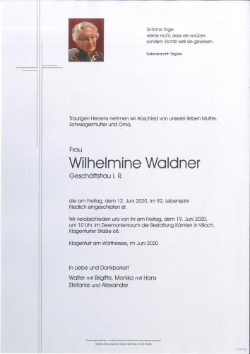 Wilhelmine Waldner