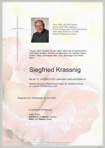 Siegfried Krassnig