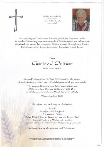 Gertrud Ortner