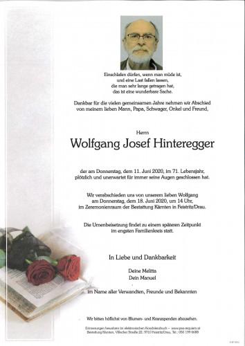 Wolfgang Hinteregger