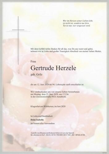 Gertrude Herzele