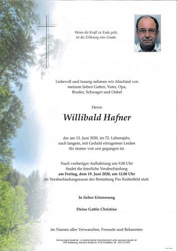 Willibald Hafner