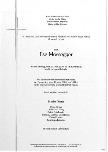 Ilse Mossegger