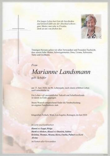 Marianne Landsmann