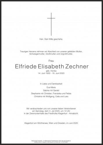 Elfriede Zechner