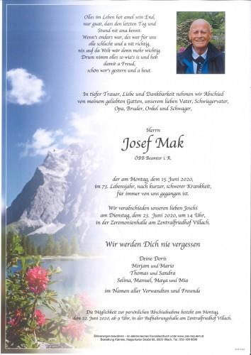 Josef Mak