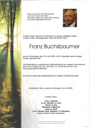 Franz Buchsbaumer