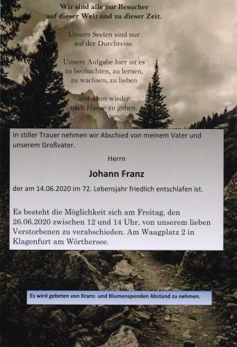 Johann Franz