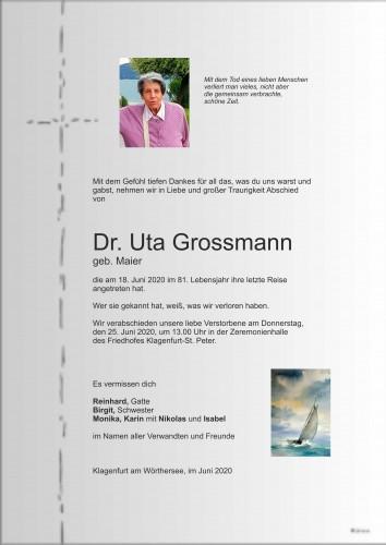 Dr. Uta Grossmann